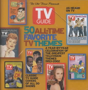 50 ALL TIME FAVORITE TV THEMES (CD)