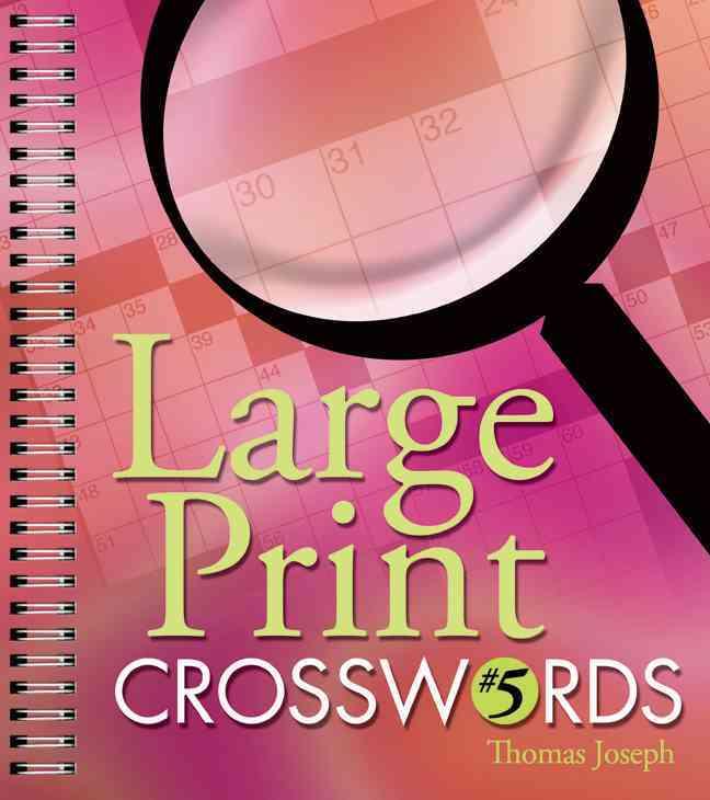 Large Print Crosswords 5 By Joseph, Thomas